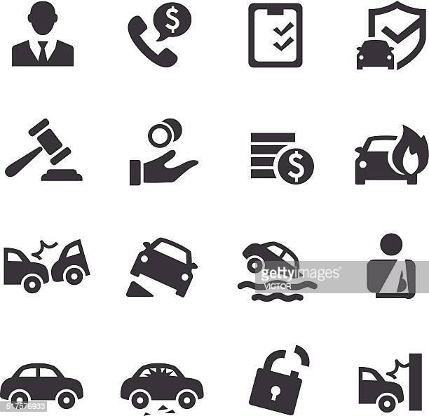 Auto Insurance Icons - Acme Series