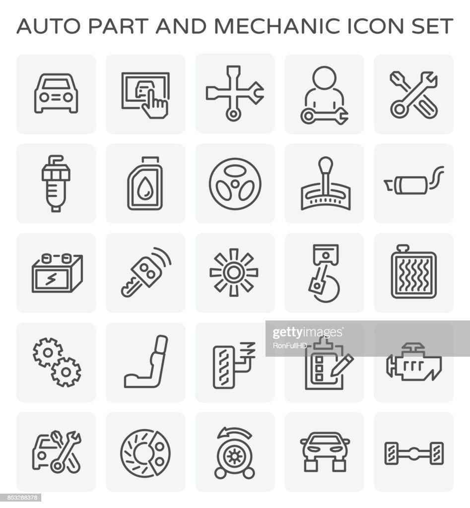 auto mechanic icon