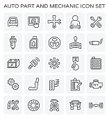 auto mechanic icon