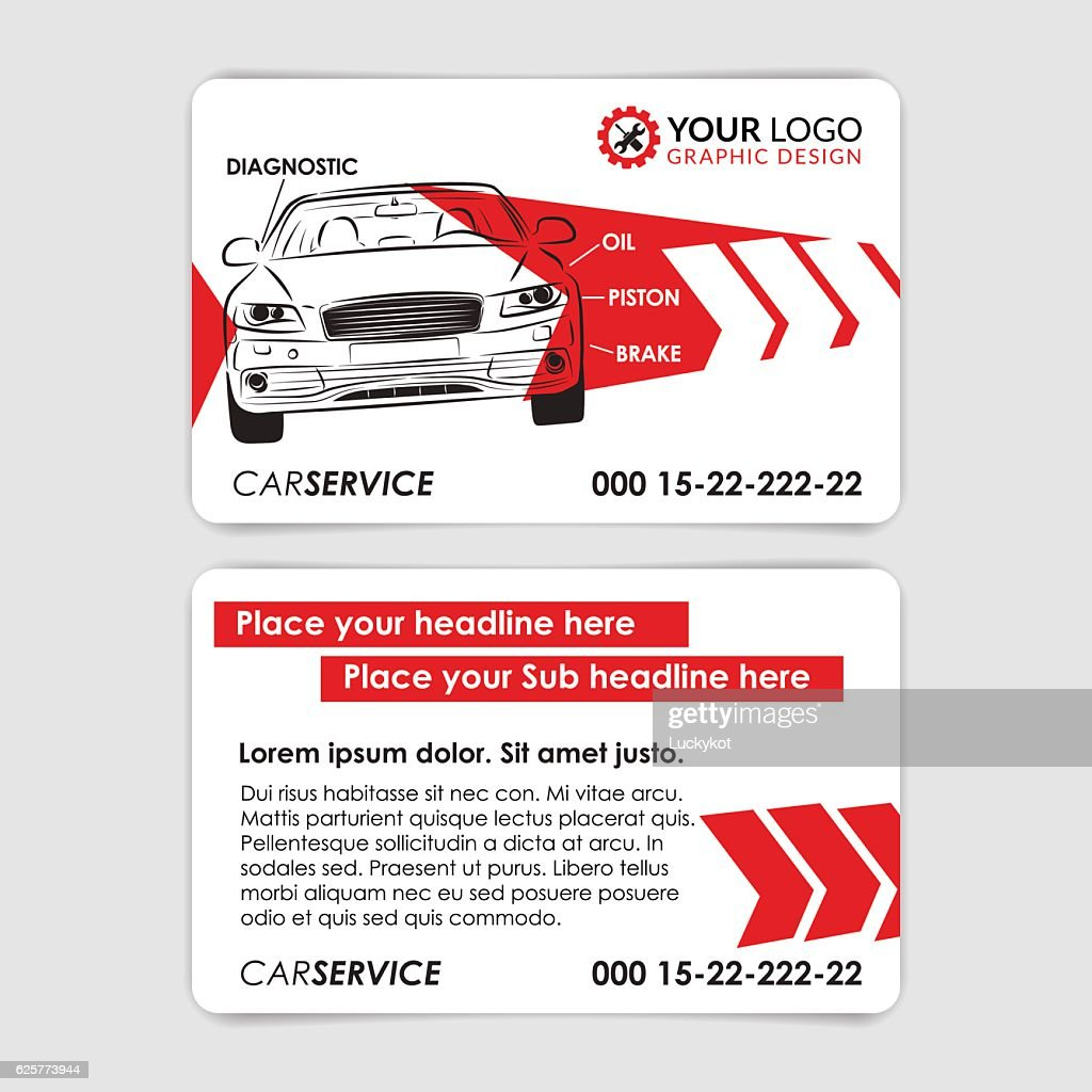 Auto Repair Business Card Template Create Your Own Business Cards
