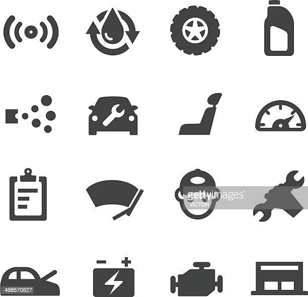 Auto Repair Shop Icons - Acme Series