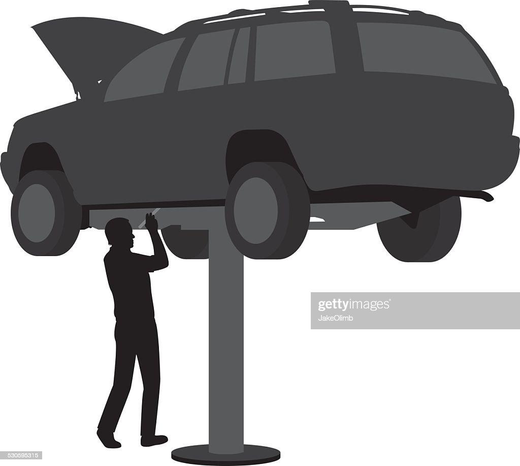Auto Repair Silhouette
