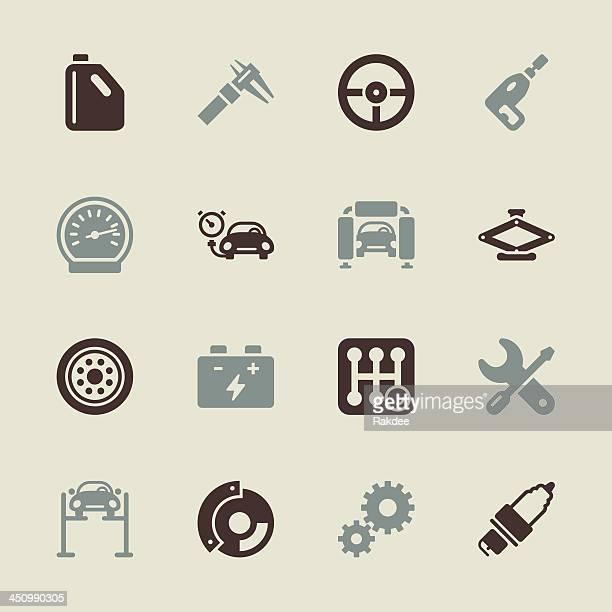 Auto Service Icons - Color Series   EPS10
