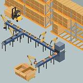 automatic belt conveyor