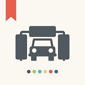 Automatic carwash icon