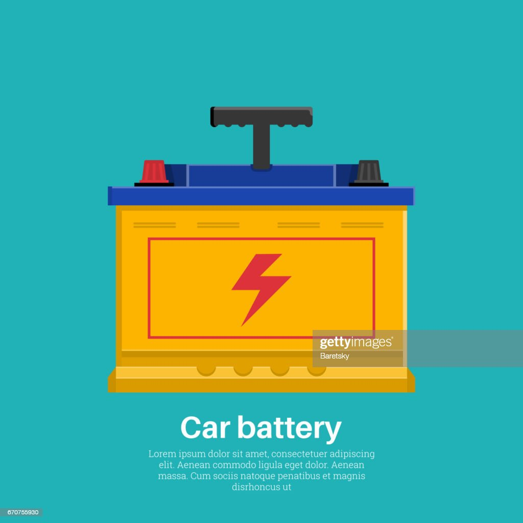 Automobile rechargeable battery