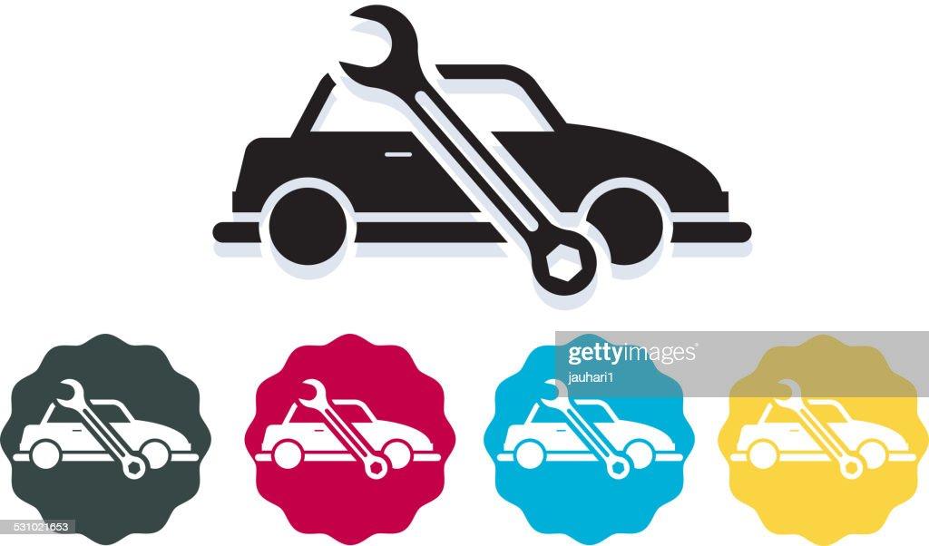 Automobile Repair Icon