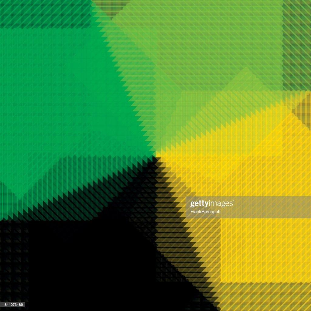 Herbst-abstrakte grafische Vektormuster : Stock-Illustration