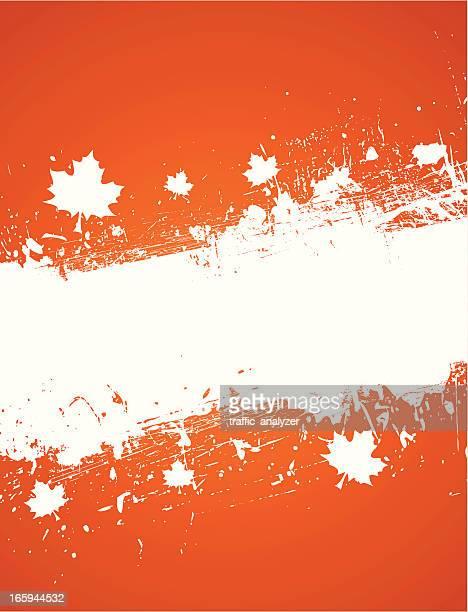 autumn background - maple leaf stock illustrations