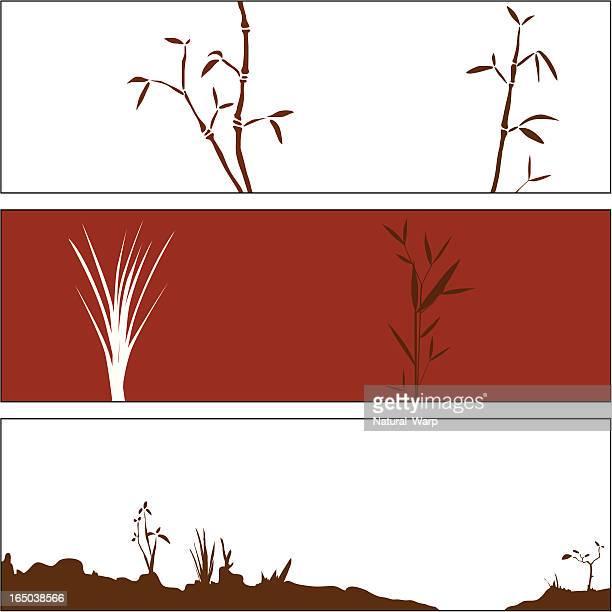Autumn Bamboo Elements