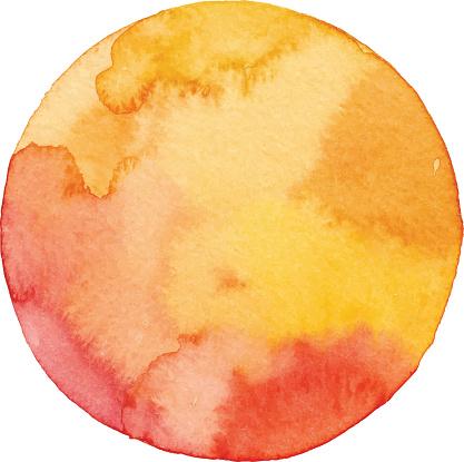 Autumn Circle Background - gettyimageskorea