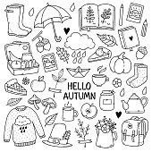 Autumn doodles.