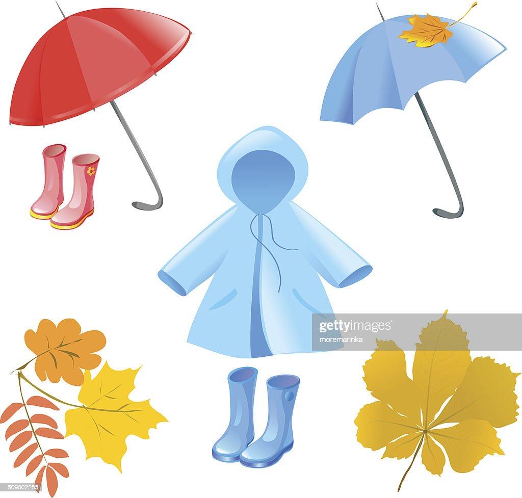 autumn items, clothes, accessories