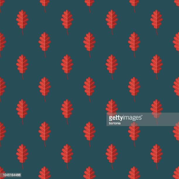 Autumn Leaf Germany Seamless Pattern