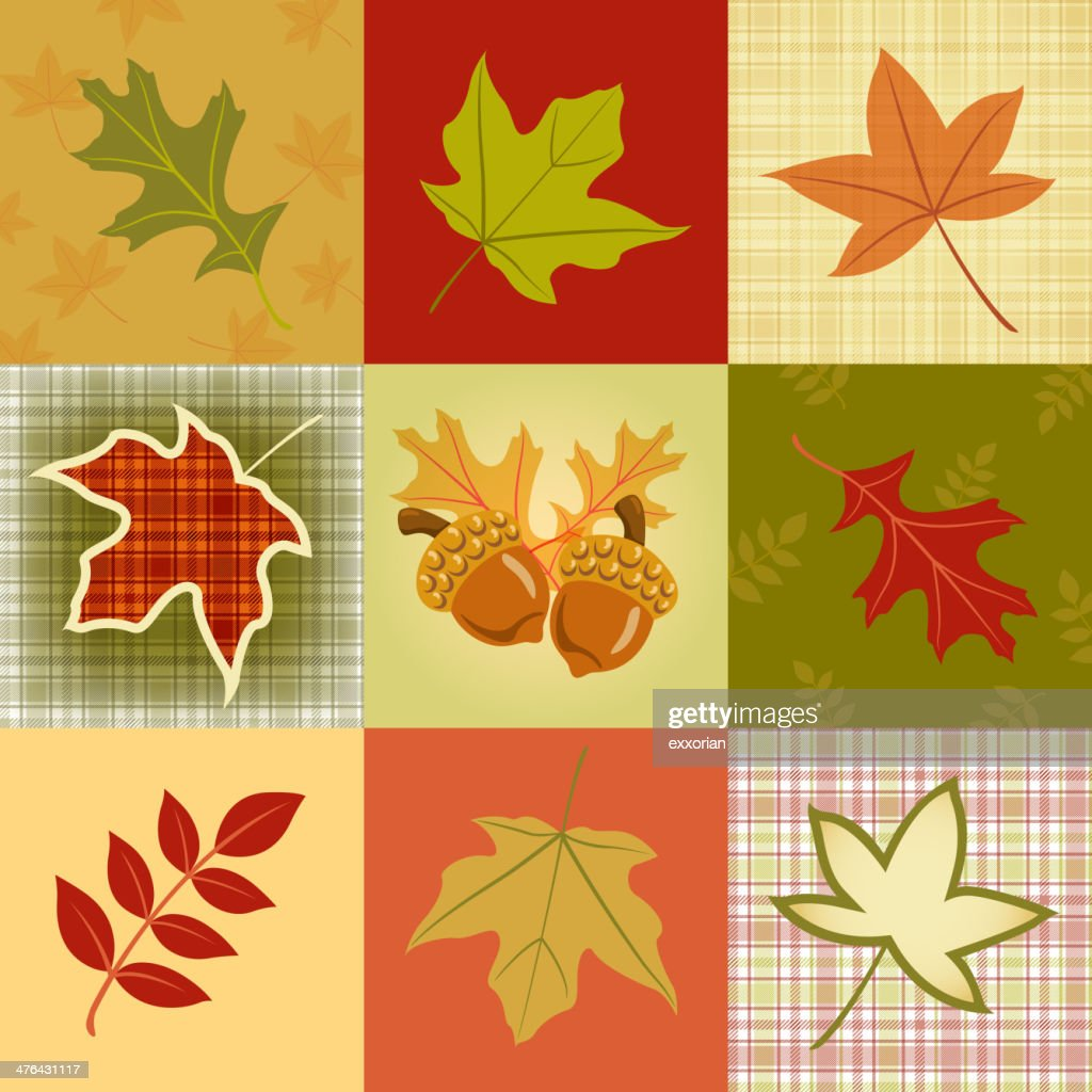 Autumn Leave Pattern