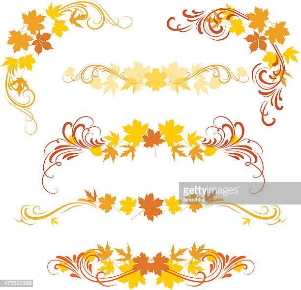 autumn ornaments