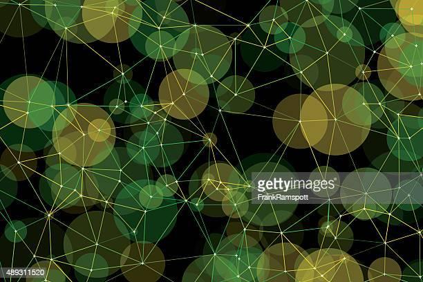 Herbst Polygon Kreismuster
