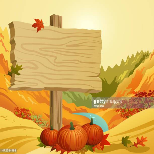 Autumn Signpost