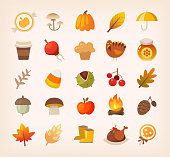 Autumn signs and symbols