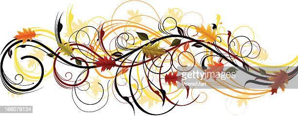 Autumn Swirls.