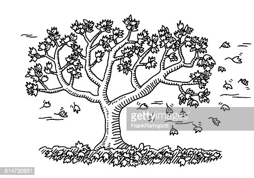 Autumn Trees Stock Illustration - canstockphoto.com