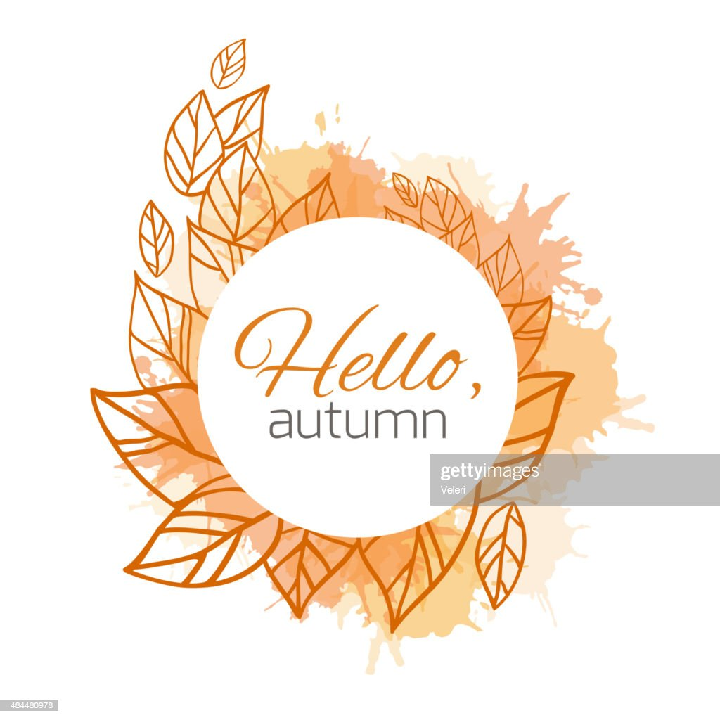 Autumn vector cover