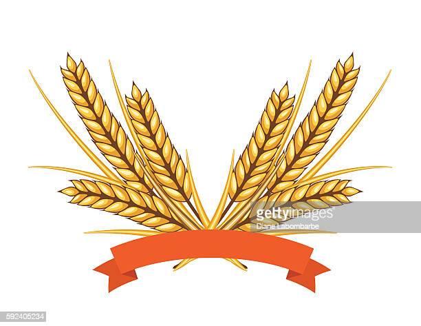 Autumn Wheat Decoration