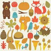 autumnanimalset