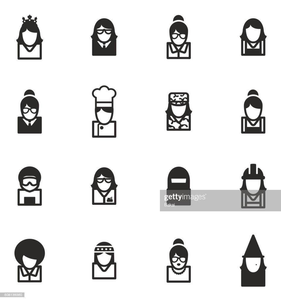 Avatar Icons Set 6