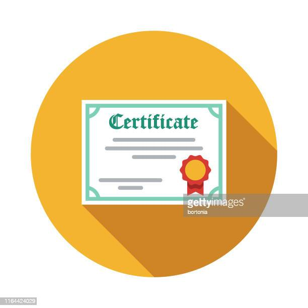 award certificate icon - certificate stock illustrations
