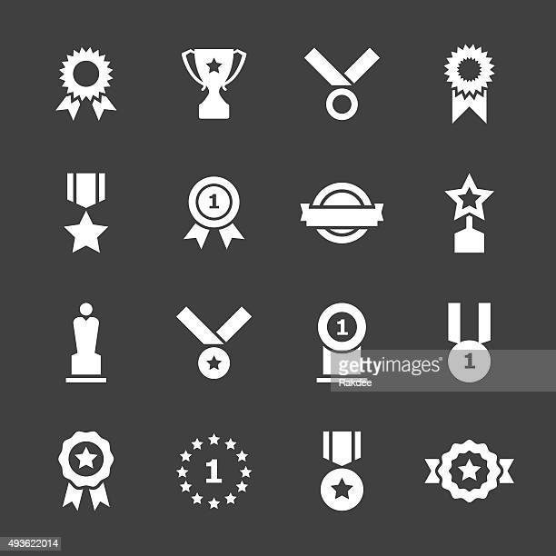 Award Icons - White Series