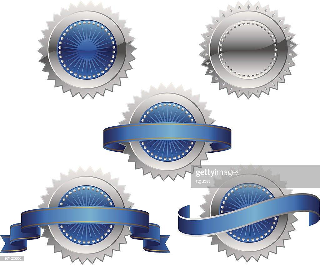 Award Rosette Medal - Seal