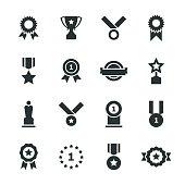 Award Silhouette Icons