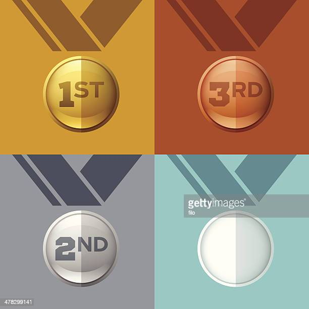awards - medallion stock illustrations, clip art, cartoons, & icons