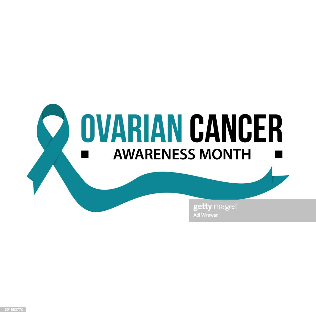 Awareness month ribbon cancer