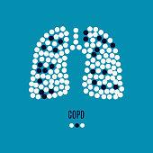 COPD awareness pills poster