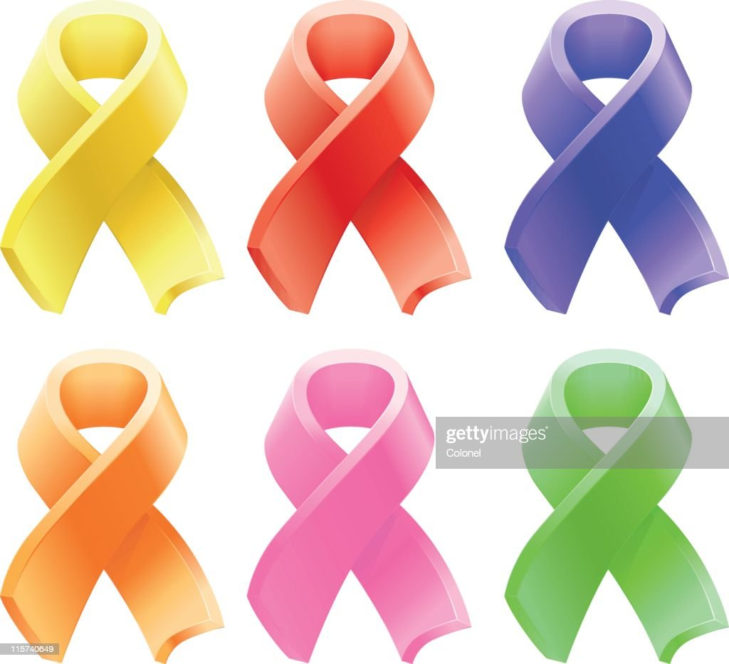Awareness Ribbons stock illustration - Getty Images