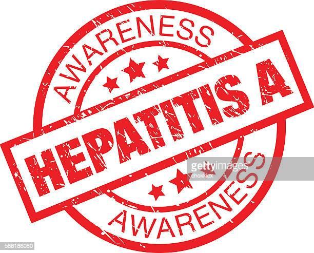 hepatitis a awareness - hepatitis virus stock illustrations