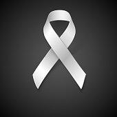 Awareness White Ribbon