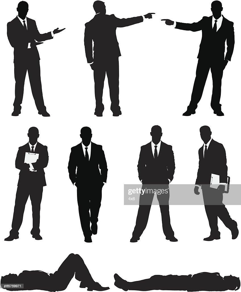 Awesome businessman : stock illustration