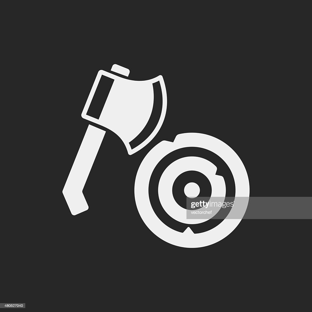 axe icon : Vector Art