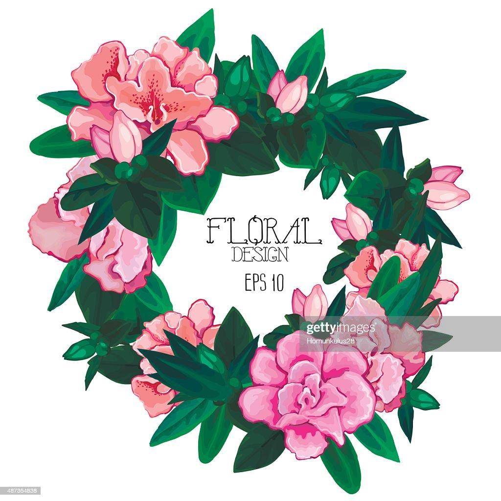 Azalea wreath