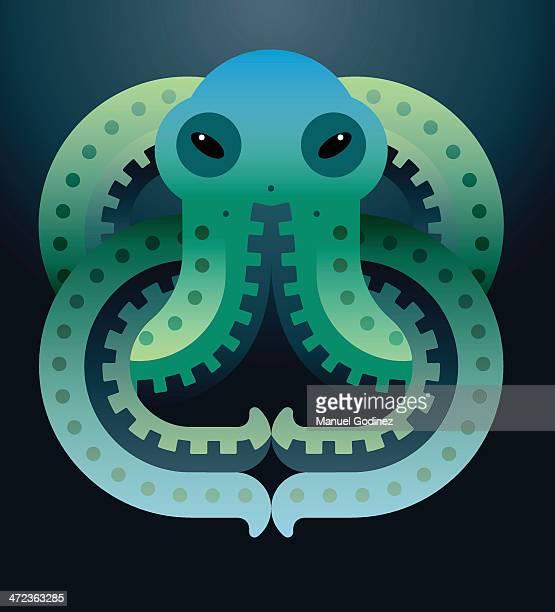 Aztec Octopus