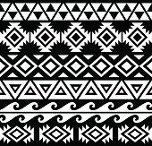 Aztec Seamless Pattern Design