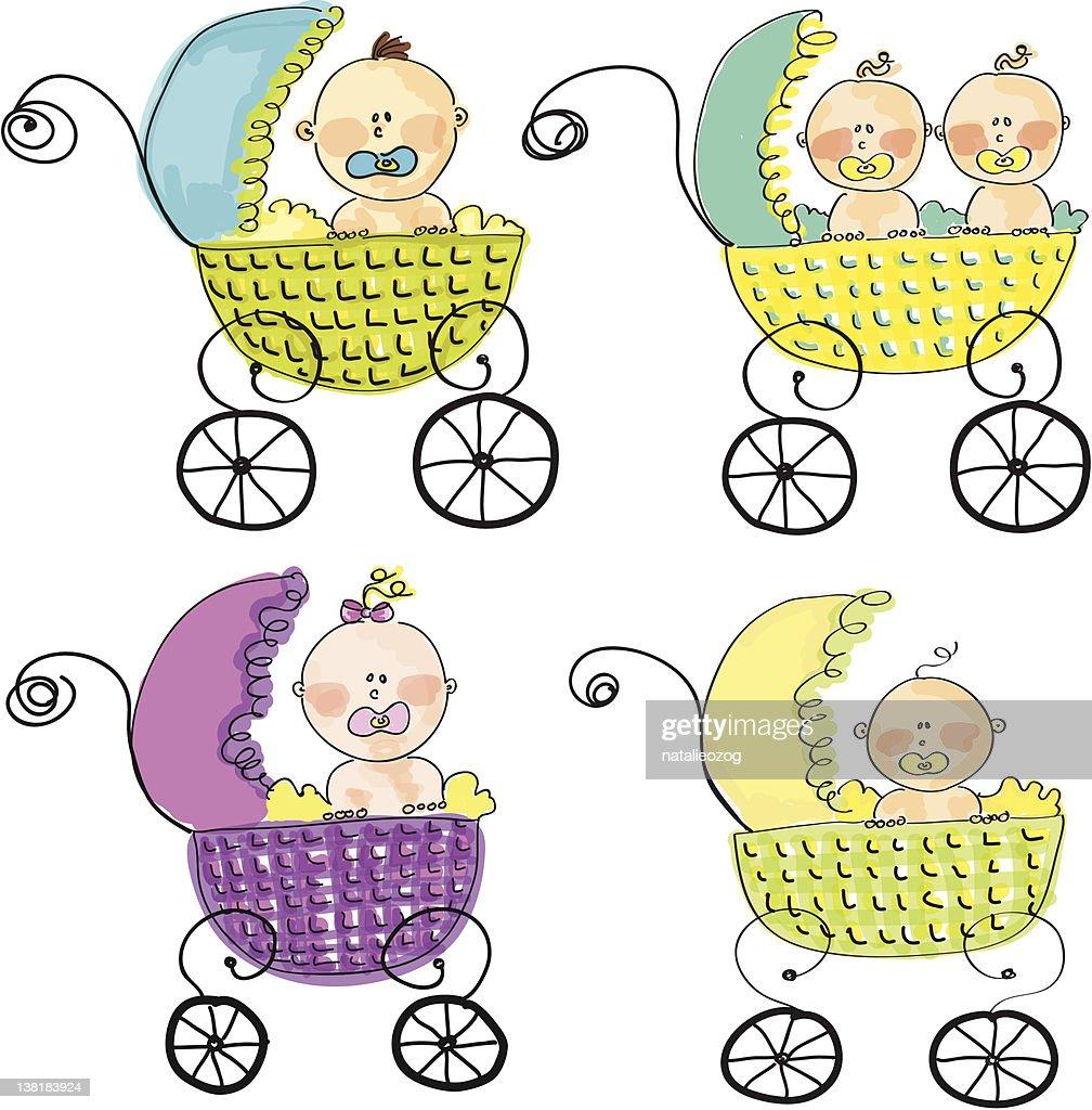 Babies in Strollers