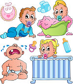 Babies theme collection 1