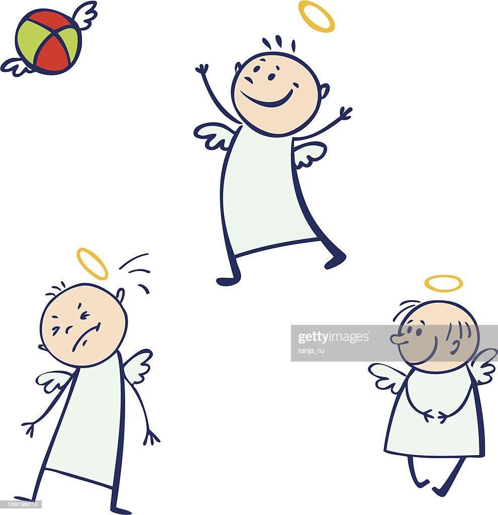 Baby angel set