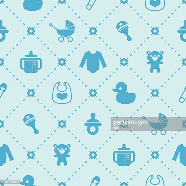 baby background - boys stock illustrations