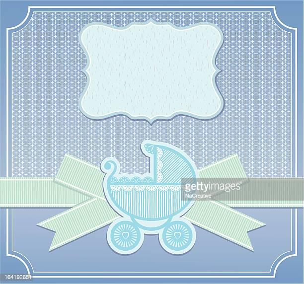 glückwunschkarte für babys – jungen - sammelalbum stock-grafiken, -clipart, -cartoons und -symbole