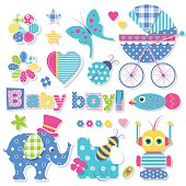 baby boy shower collection